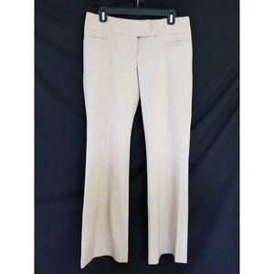 The Limited Size 6 Drew Fit Dress Pants Tan